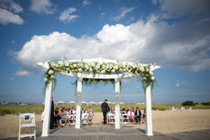 Cape Cod Beach Wedding Flowers