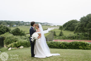 Cape Cod bride and groom
