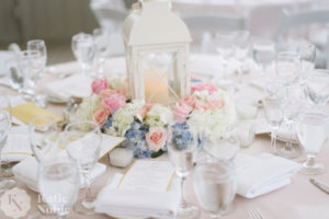 Mashpee Commons Wedding reception florist