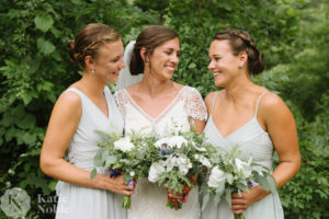 Cape Cod Bridesmaid Flowers