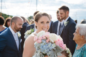 Cotuit Wedding Party Flowers