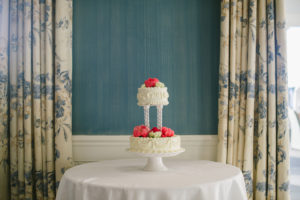 Cape Cod Florist wedding cake