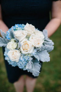 Barnstable bridesmaid flowers