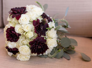 bride wedding boquet