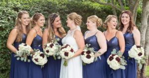 Cape Cod Bridesmaids Flowers