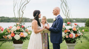 Osterville Outdoor Wedding Ceremony