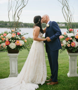 Osterville Wedding Ceremony Flowers