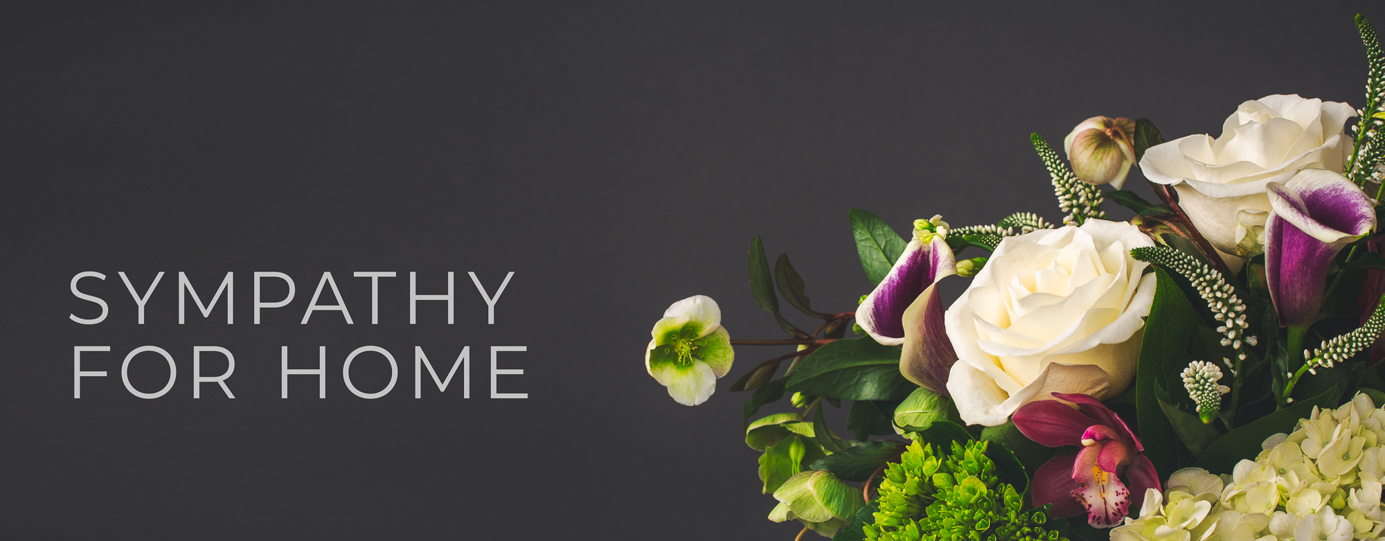 sympathy for home header
