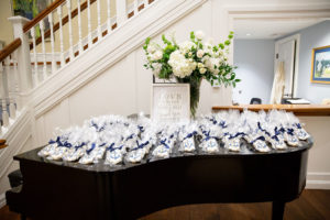 Osterville Wedding Reception Flowers